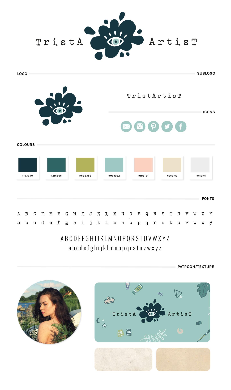 TristArtist brand styling