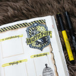 harry potter bullet journal hufflepuff