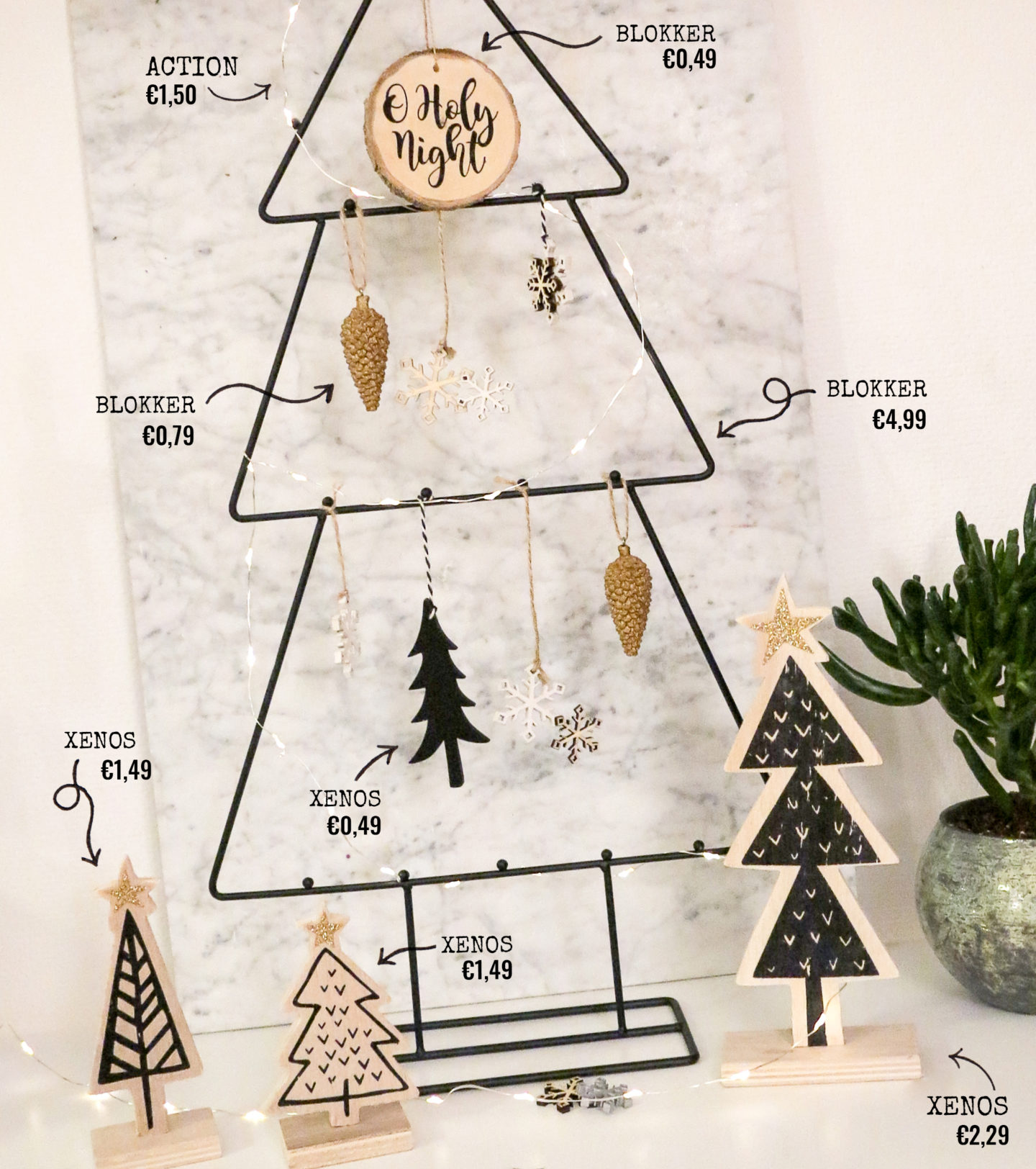 modern christmas tree prices