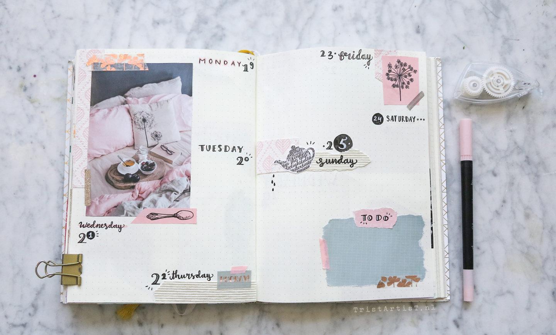 Bullet Journal February 2018