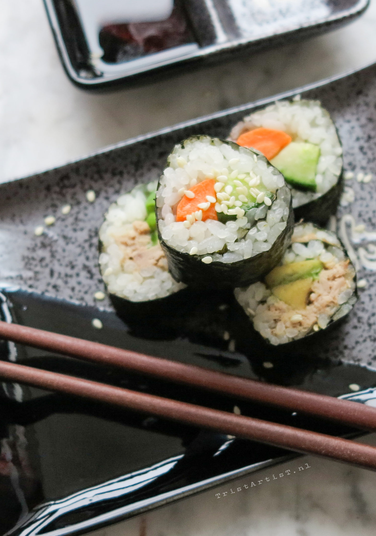Vegan Friday Homemade Sushi