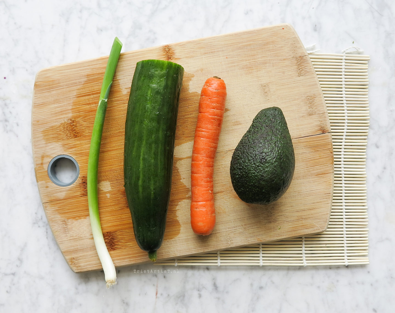 Vegan Friday Homemade Sushi