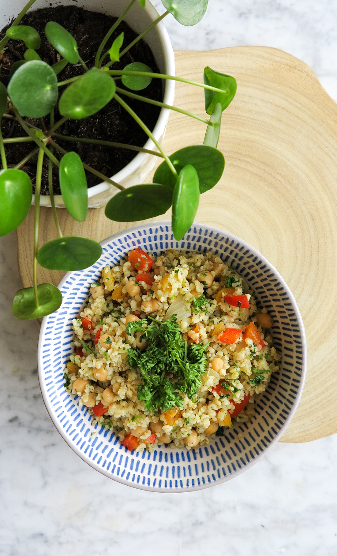 Vegan Friday – Chickpea Bulgur