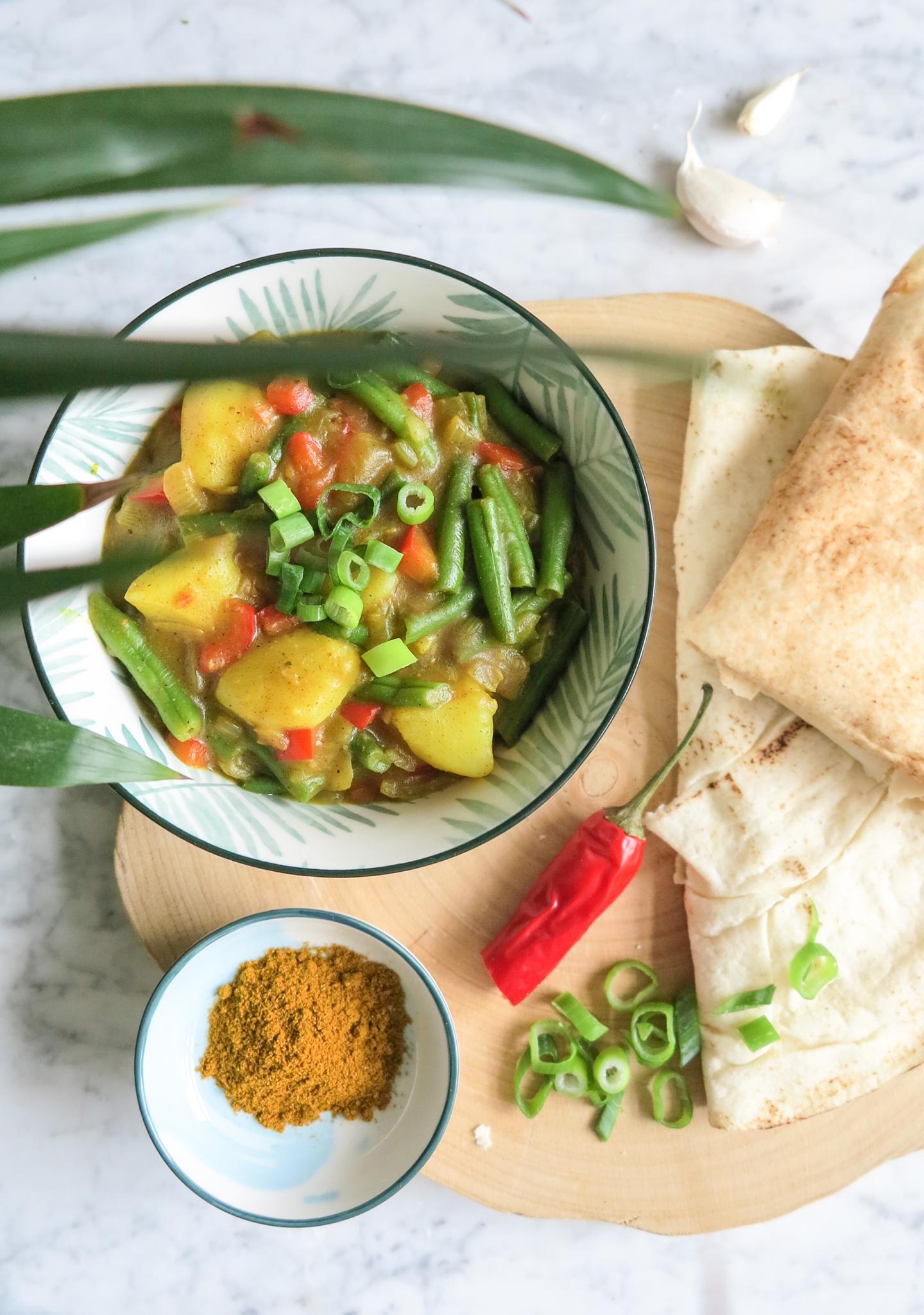 Vegan Friday – Vegetable Roti
