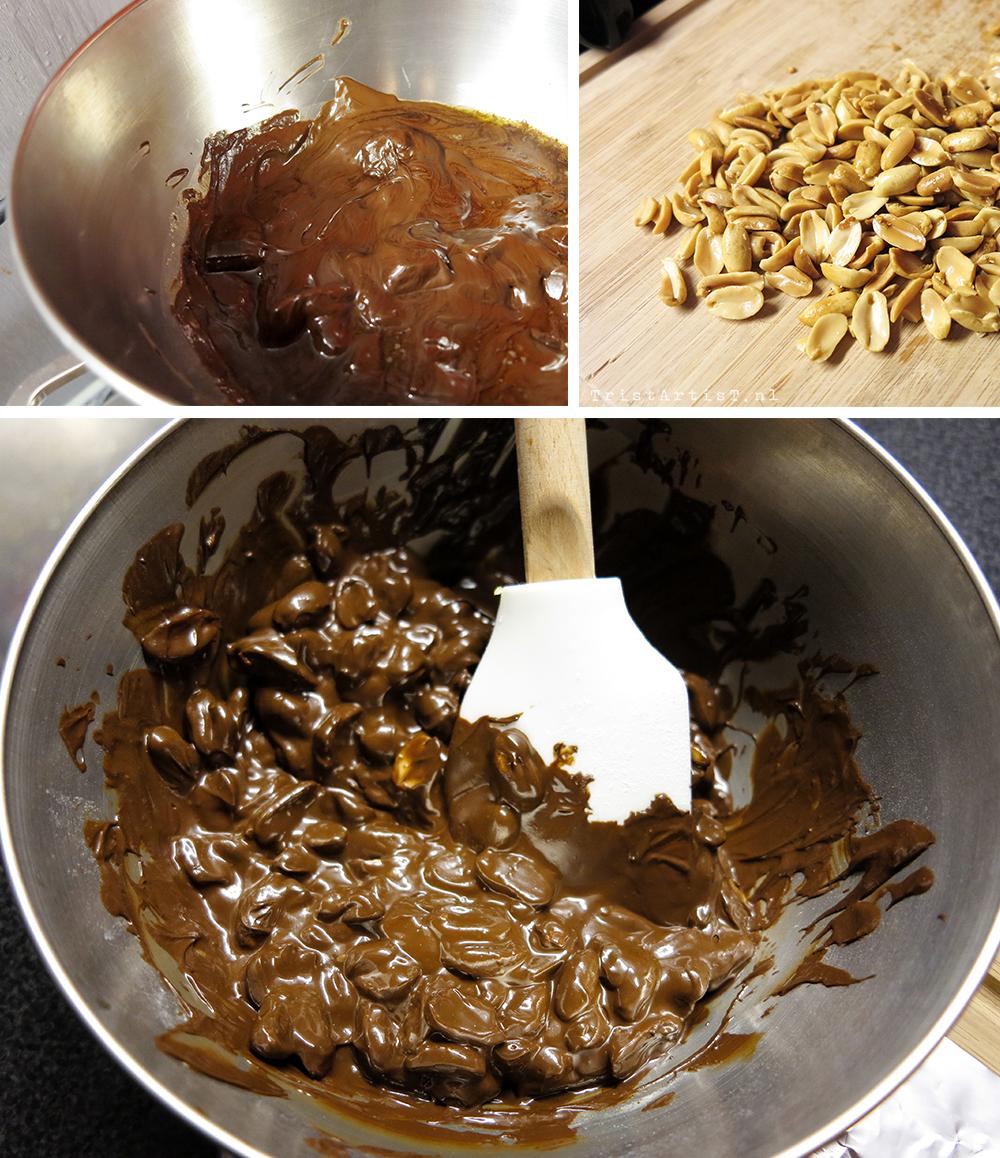 Vegan Friday Chocolate peanut brittle