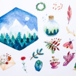 Watercolor With Me Magical Forest
