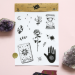 fortune teller stickers