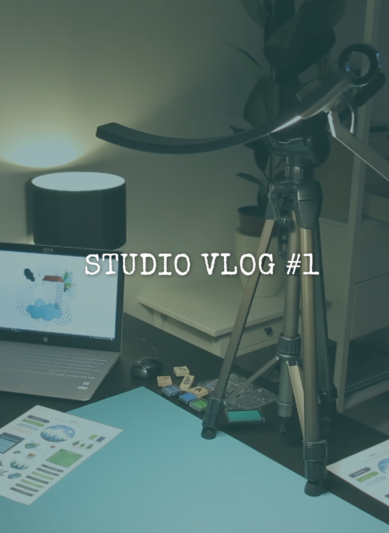 STUDIO VLOG #1 ★ Behind the scenes