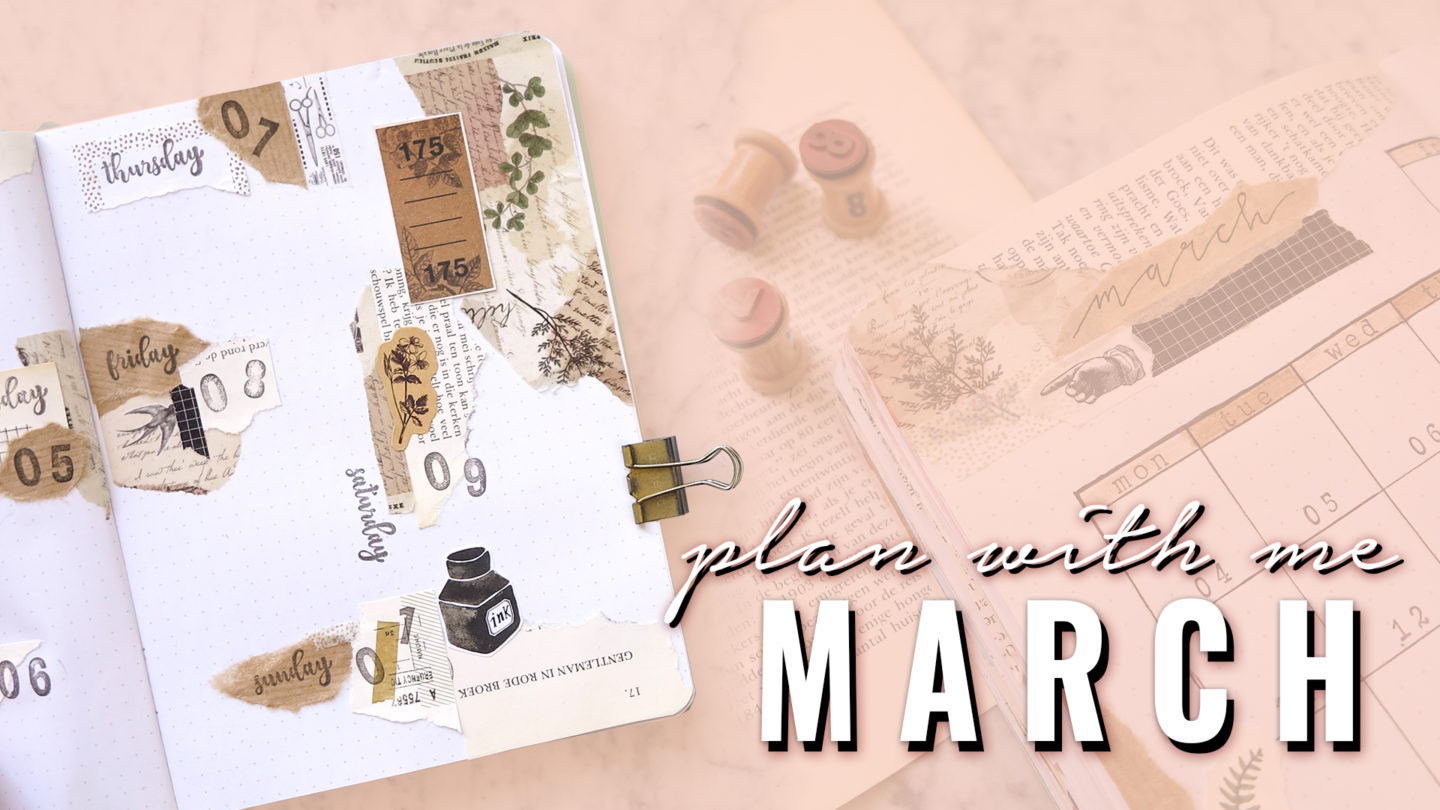 Plan With Me Bullet Journal March 2019