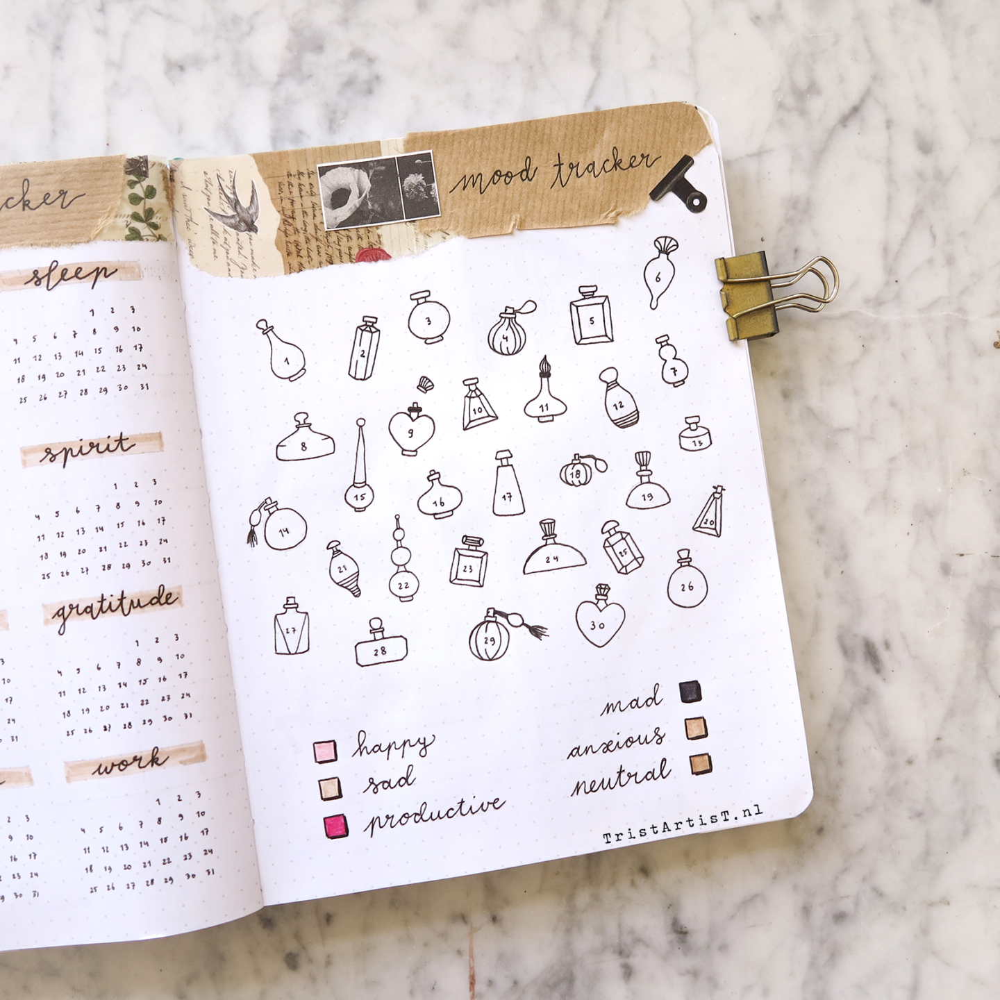 march bullet journal plan with me 2019