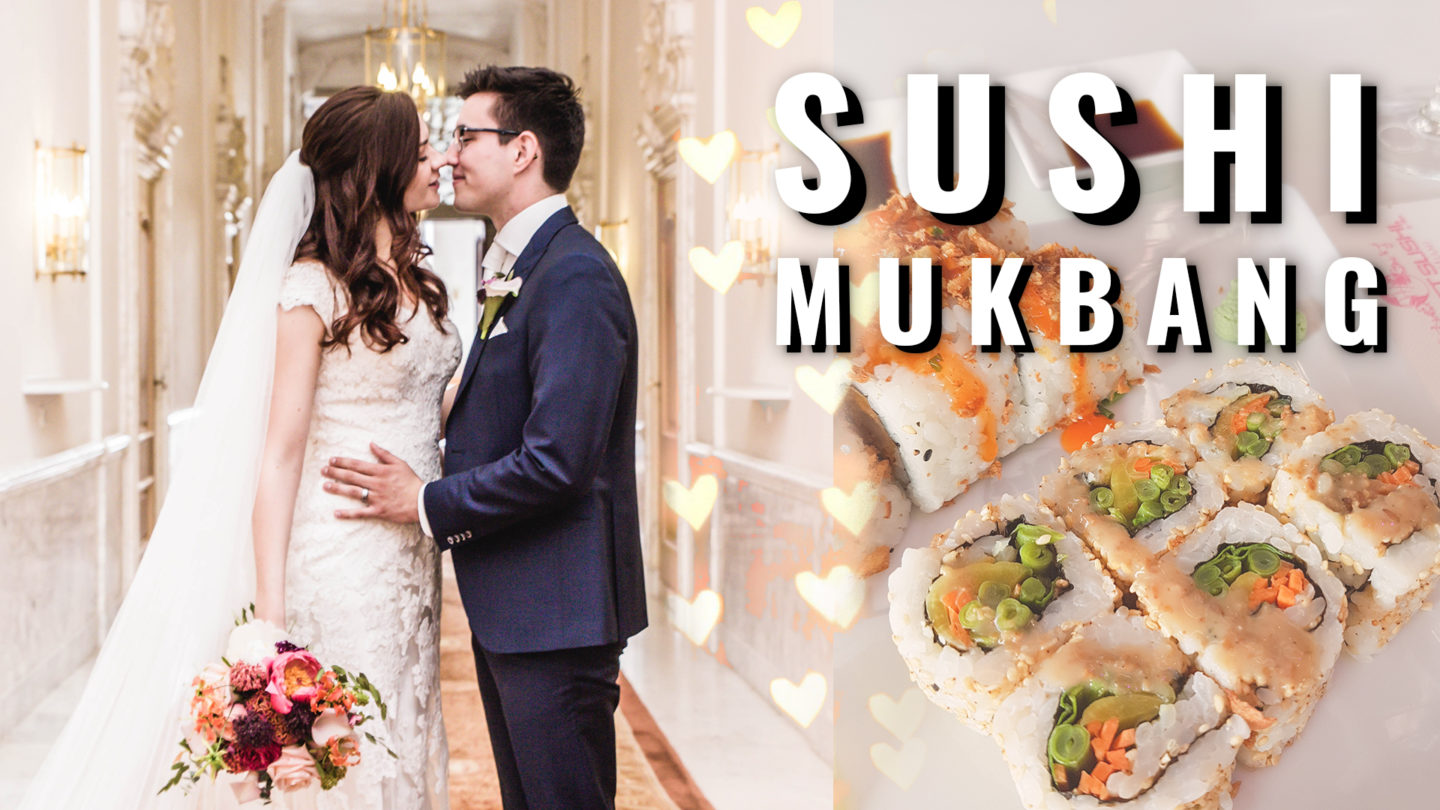 Q&A SUSHI MUKBANG ★ Marriage ★ Children ★ How do we deal with struggles?