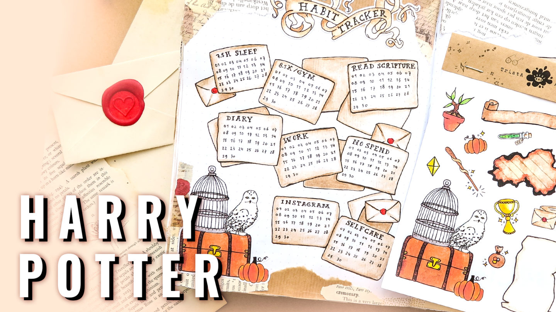 HARRY POTTER ★ Bullet Journal IDEAS ★ Plan with me September 2019
