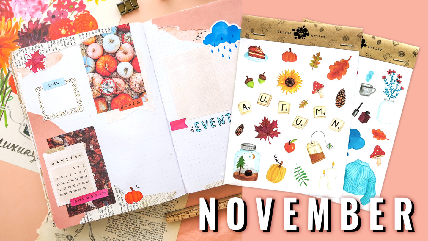 Plan With Me Bullet Journal November 2019 AUTUMN