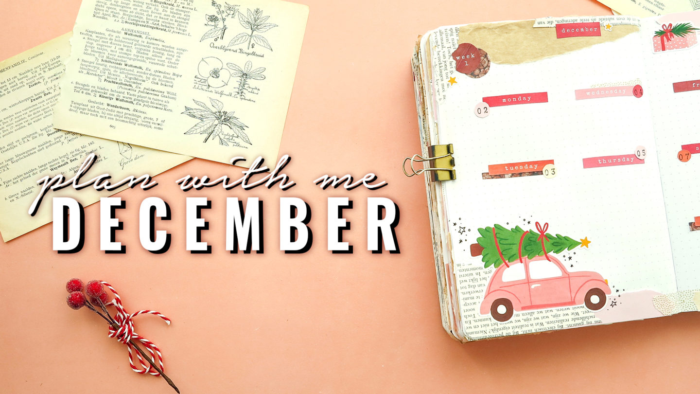Christmas Bullet Journal December 2019 Plan with me