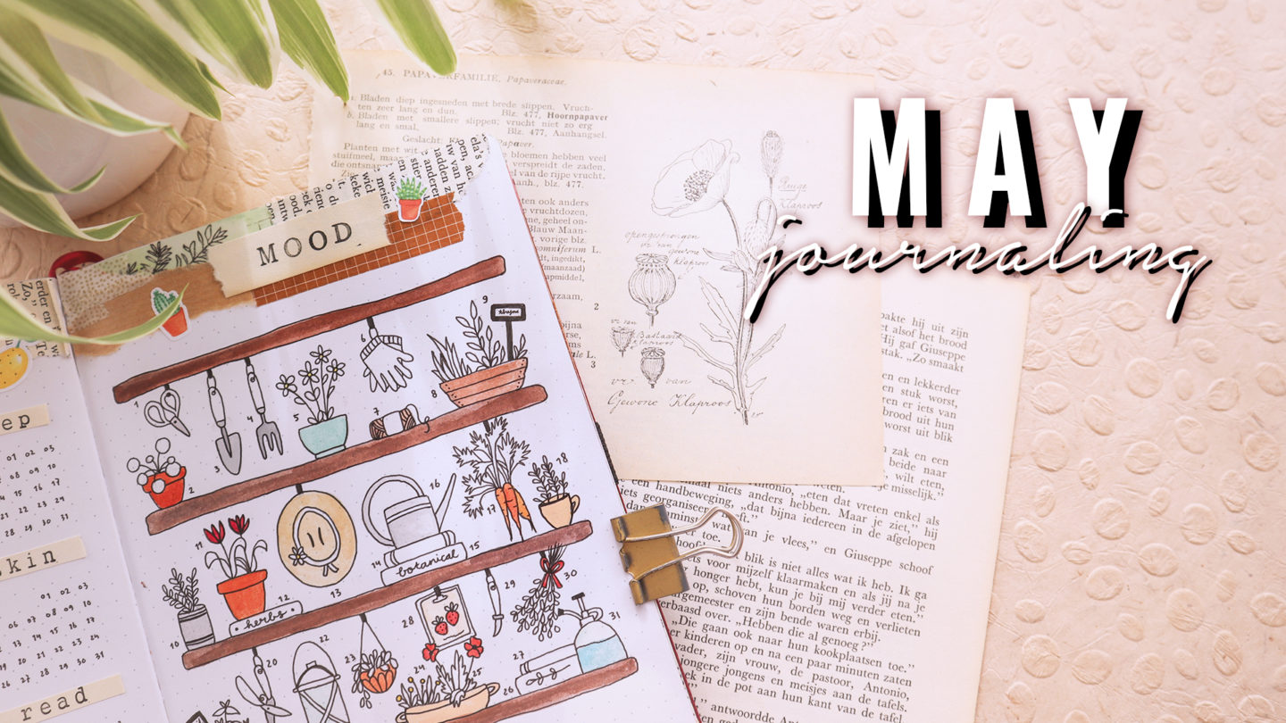 MAY 2020 BULLET JOURNAL GARDENING THEME