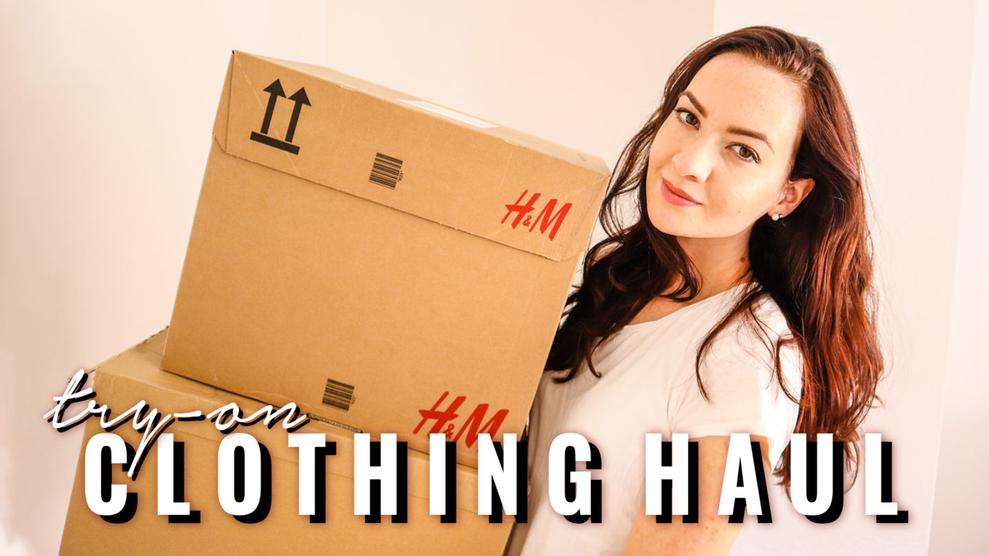 SPRING QUARANTINE TRY-ON CLOTHING HAUL