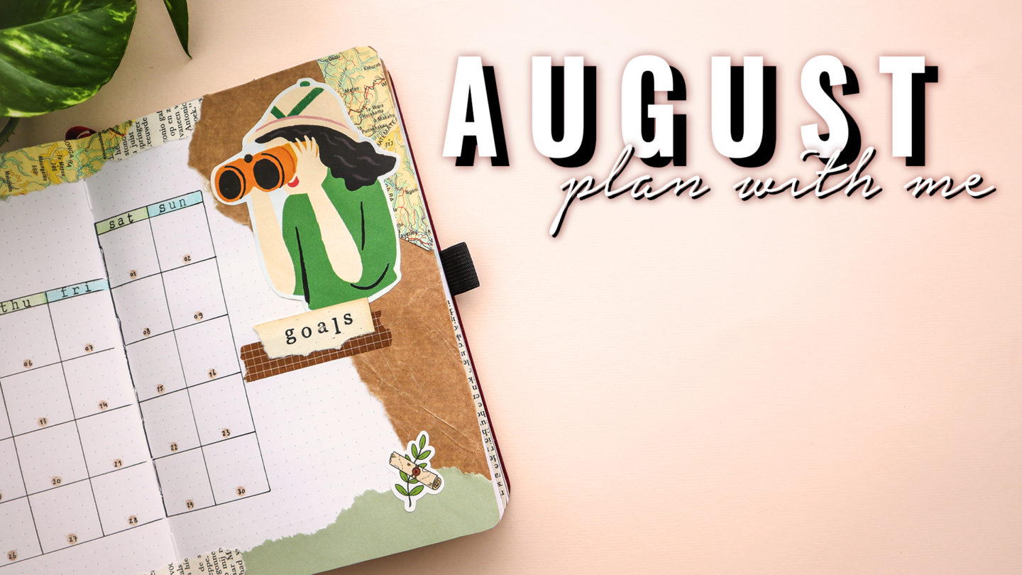ADVENTURE THEME ★ AUGUST 2020 ★ BULLET JOURNAL