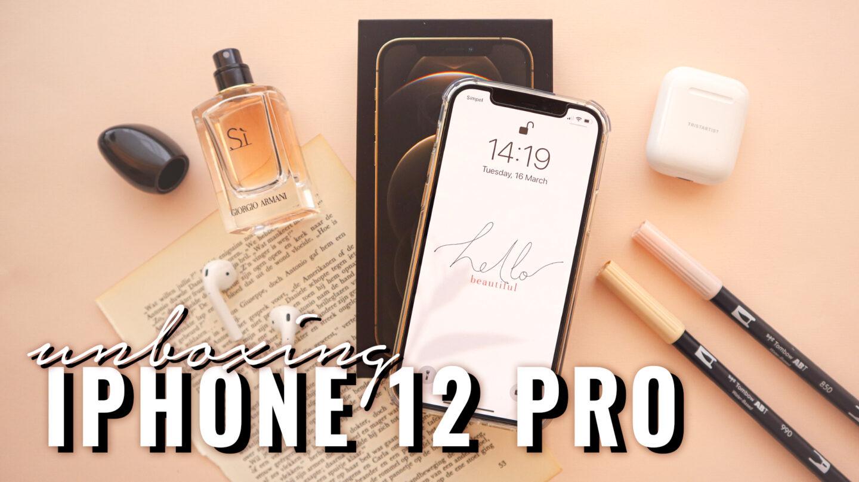 IPHONE 12 PRO UNBOXING + IOS 14 CUSTOMIZATION