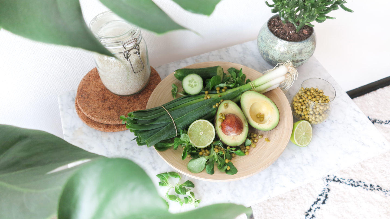 Vegan rice salad
