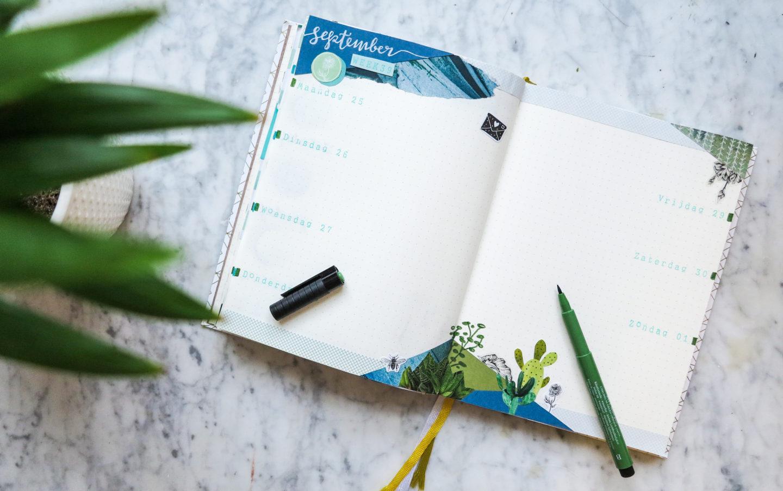 Bullet Journal – Plan with me September 2017