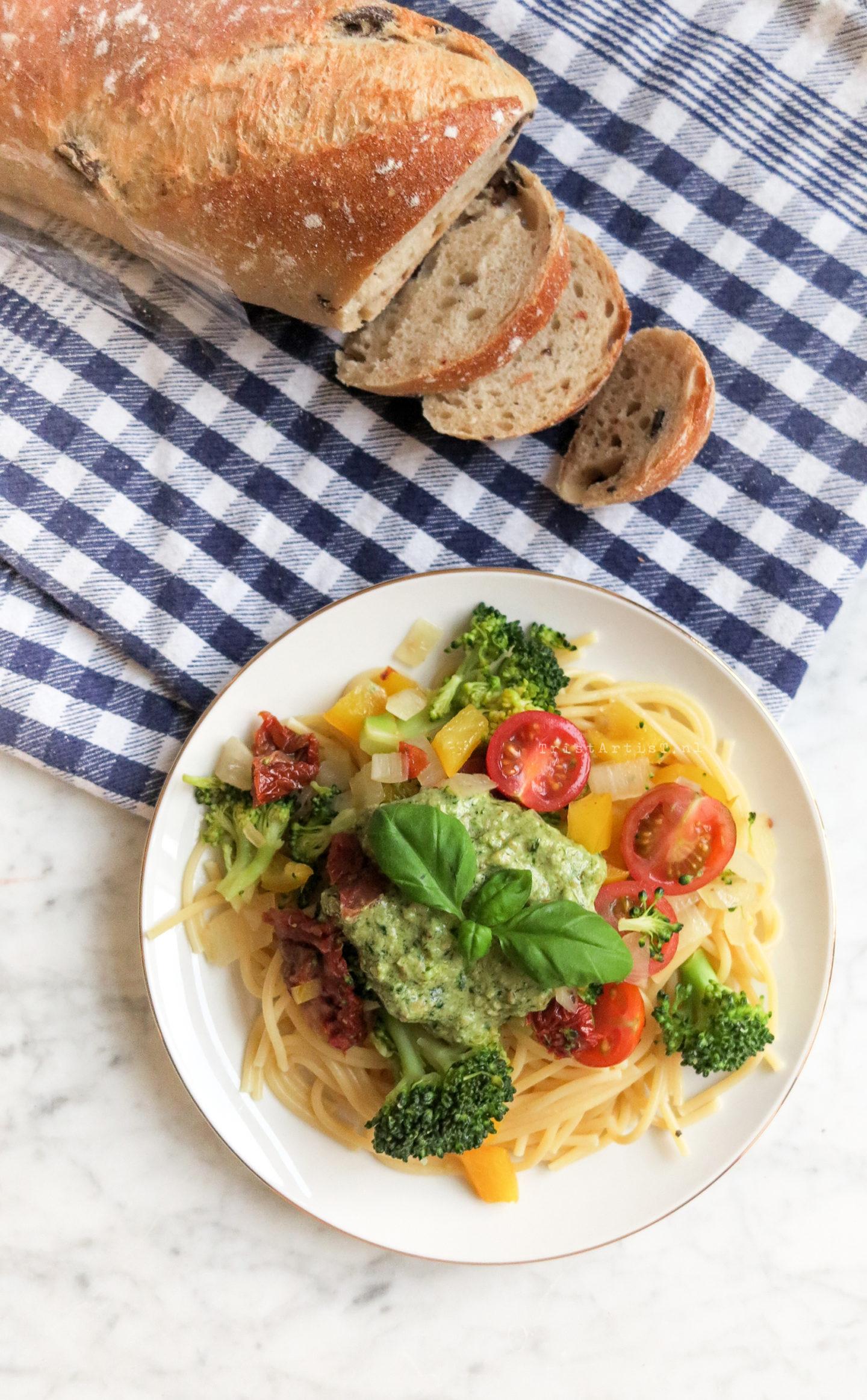 Vegan Friday – Pasta Pesto