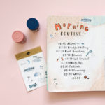 Morning Night Routine Bullet Journal Style