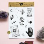 fortune teller stickers