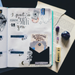 fortune teller january printable stickers bullet journal