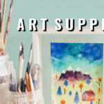 How I store my art supplies collection organisation