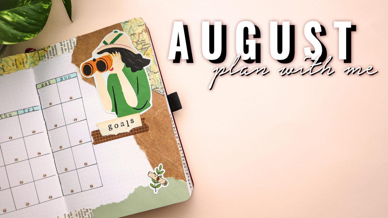 ADVENTURE THEME ★ AUGUST 2020 ★ BULLET JOURNAL