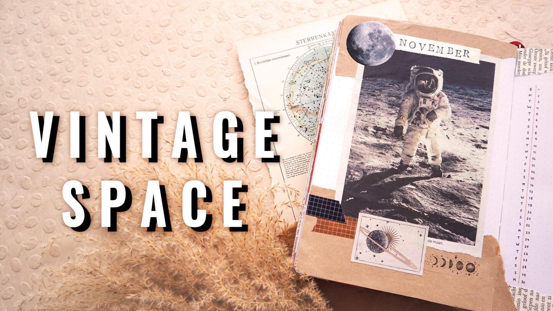 VINTAGE SPACE ★ BULLET JOURNAL THEME ★ NOVEMBER 2020