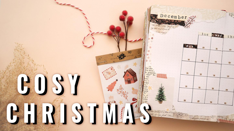 COSY CHRISTMAS ★ BULLET JOURNAL THEME ★ DECEMBER 2020