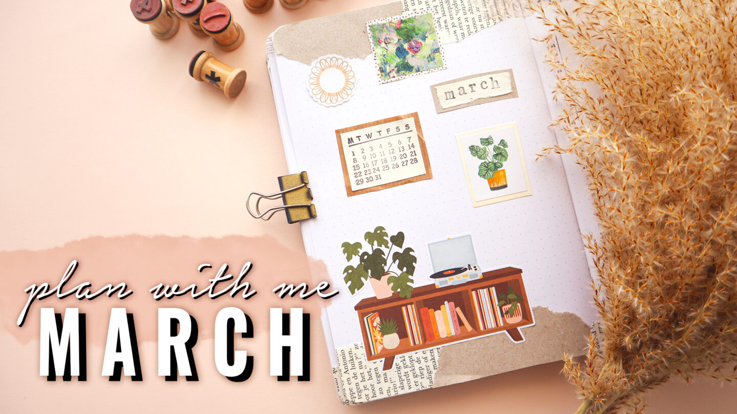 BOHO VIBES – BULLET JOURNAL THEME – MARCH 2021