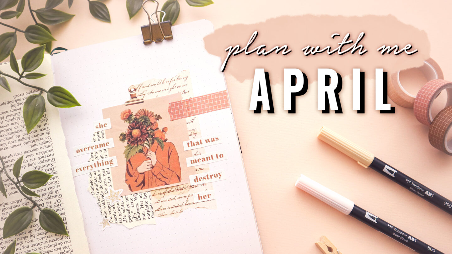 BULLET JOURNAL PLAN WITH ME APRIL 2021