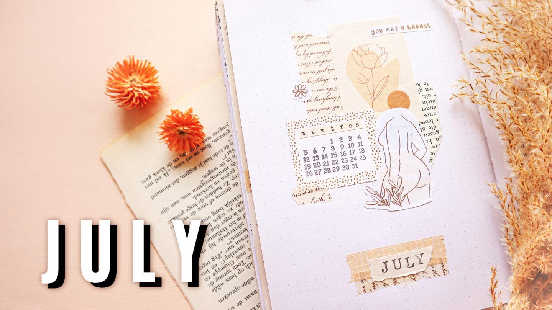 BODY POSITIVITY & BODY CONFIDENCE BULLET JOURNAL THEME – JULY 2021
